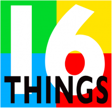 16 Things Kids Can Do Logo